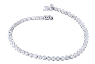 Sophia by Design 1.83 CT Diamond Bracelet 14k White Gold