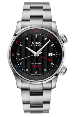 Mido Multifort GMT Watch (His)