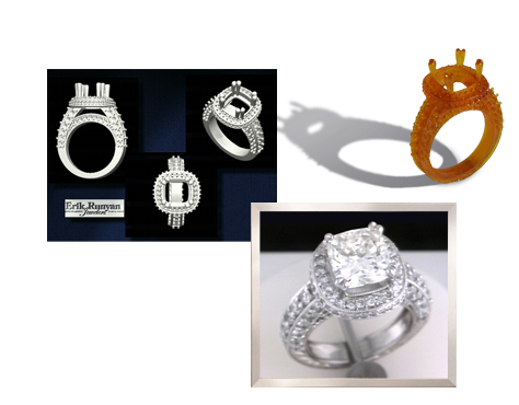 custom designed engagement rings in vancouver wa