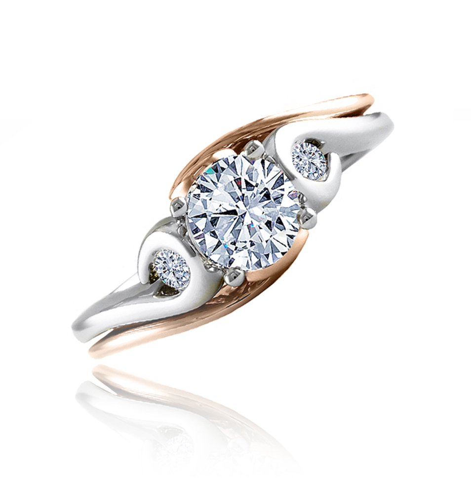 simple classic and custom enagement rings vancouver wa and portland or