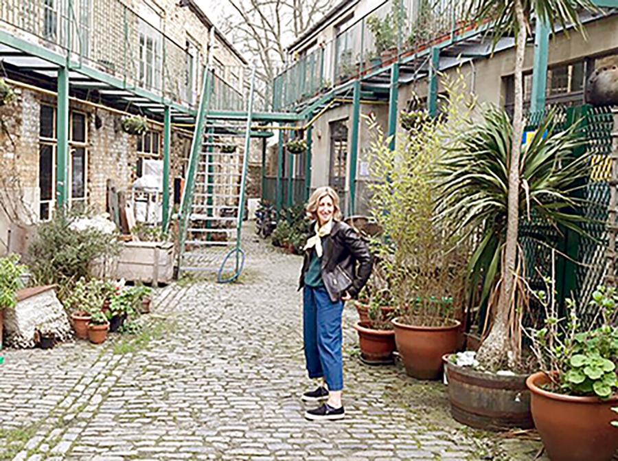Deborah Colman at The Chocolate Factory studios