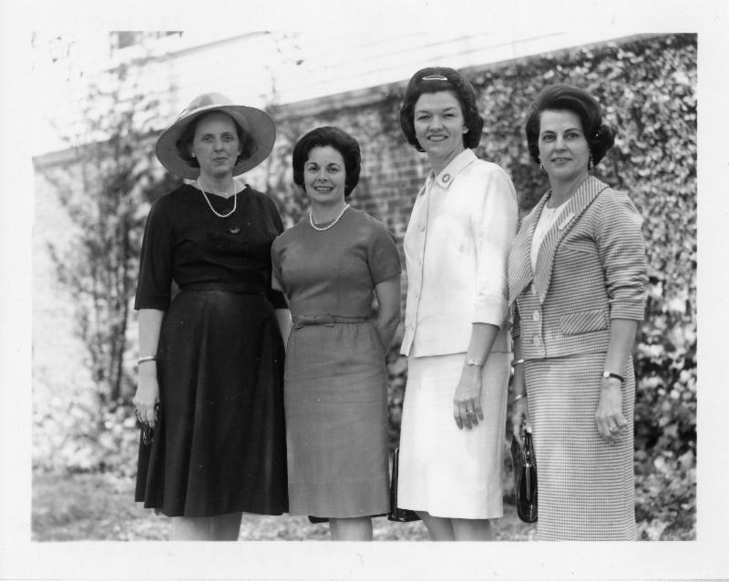 Junior League of Baton Rouge Members, c. 1955. Image courtesy of the Junior League of Baton Rouge, East Baton Rouge Parish Library.