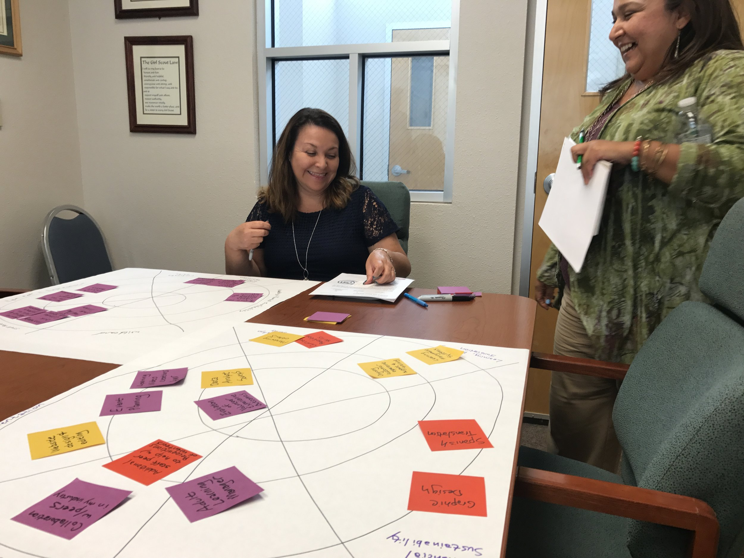 Prioritizing key knowledge, skills, capabilities that would improve their impact