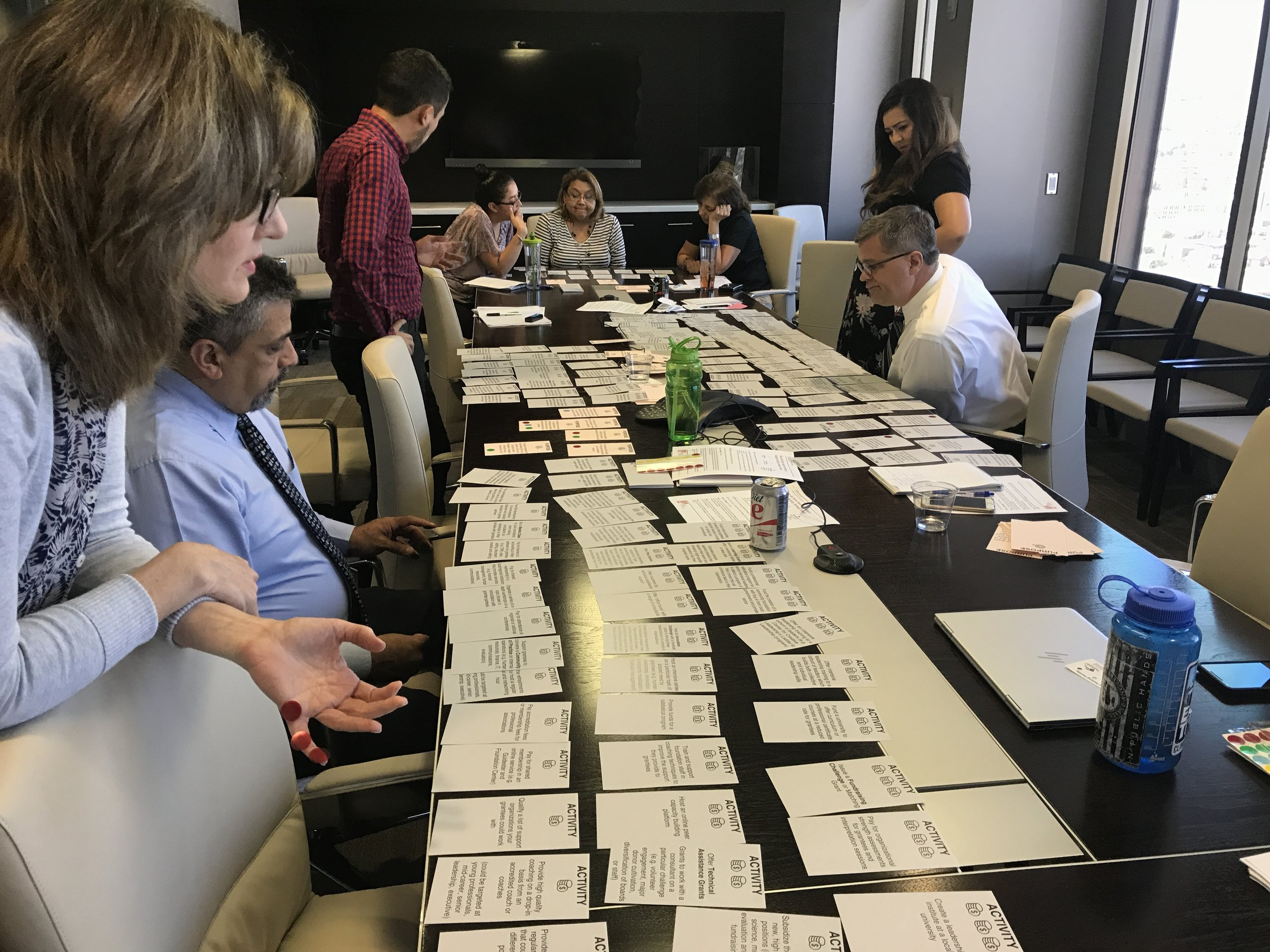 Coming to agreement on Purpose, Activities and Impacts with Paso del Norte Health Foundation