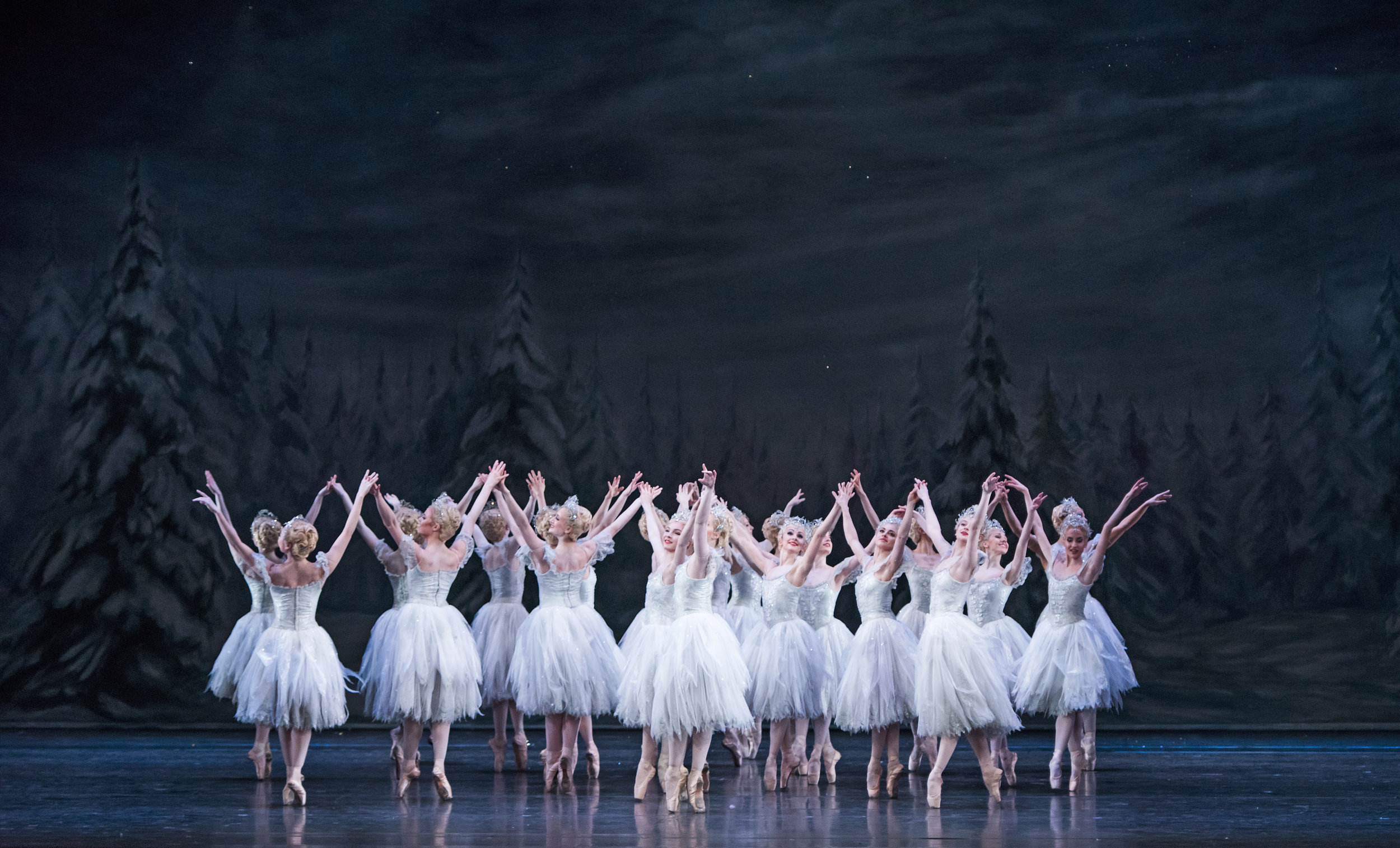 Artist of The Royal Ballet as Snowflakes in The Nutcracker ©ROH, 2015. Photographed by Tristram K.jpg