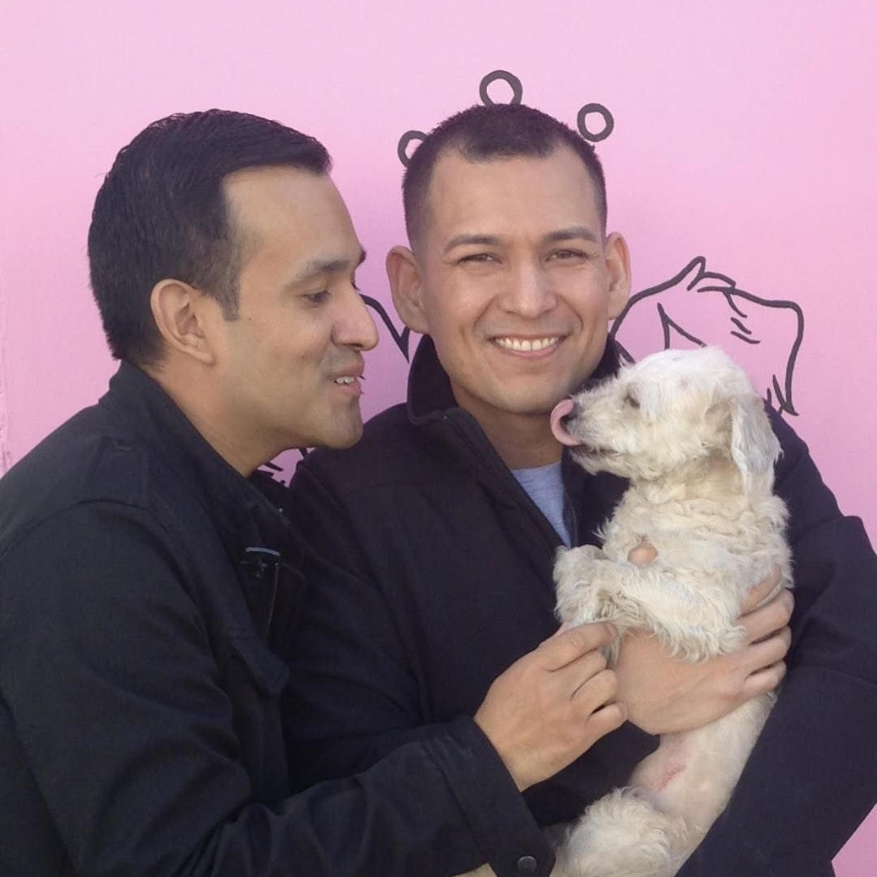 LANA WAS THROWN FROM A CAR AND INJURED BUT HER NEW DADS ARE SO IN LOVE WITH HER AND ARE HELPING HER HEAL!