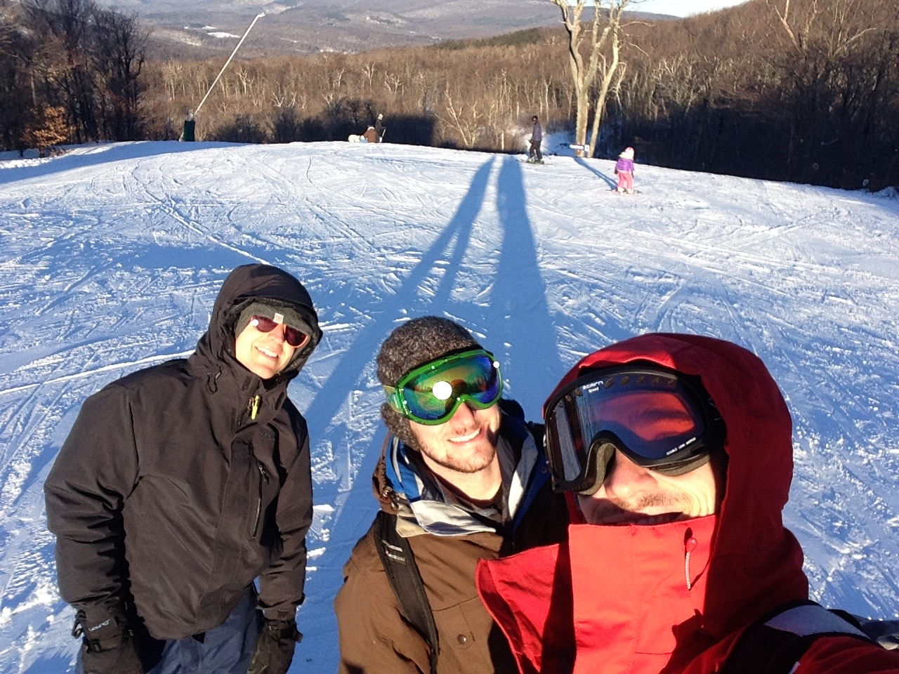 Lab ski trip 2015