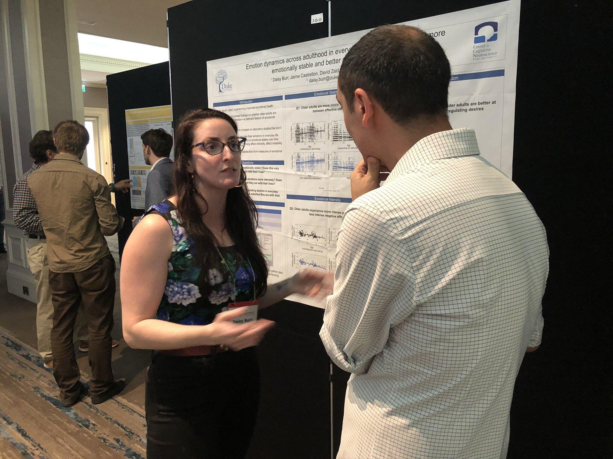 PhD student Daisy Burr
