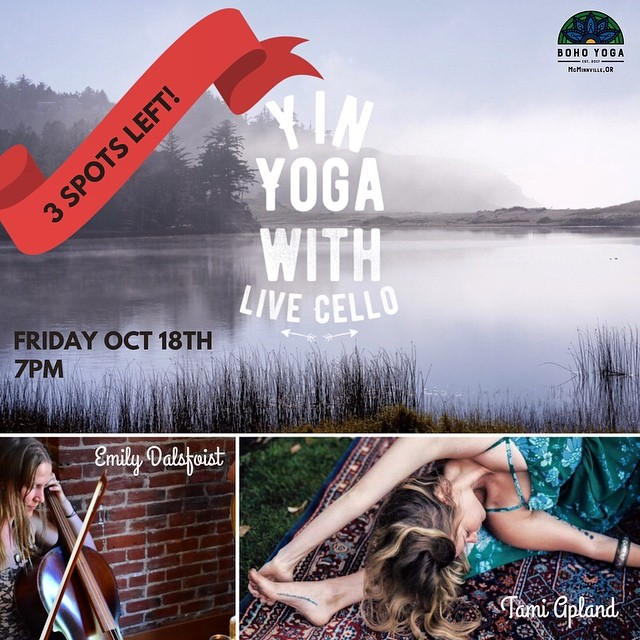 This is TONIGHT & we couldn't be more stoked. Please pre-register or contact us via email if you want one of the remaining spaces. It's gonna be so sweet ✨ Thank you so much @outdoor_yogi & @tamiapland for returning to wine country! We ♥️ you.
