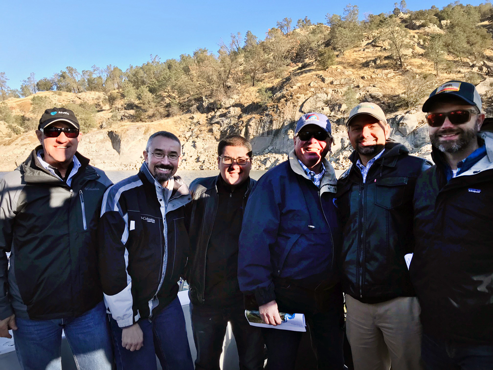 Bill Swanson, Jeff Rieker, Michael Cervantes, Tim Quinn, Jason Phillips and Jeff Payne