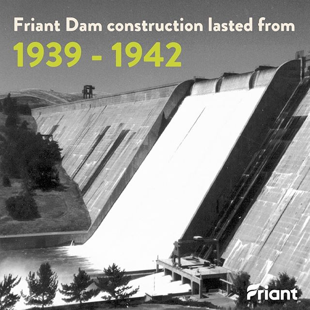 Does anyone have family that worked on the Friant Dam during its construction? Let us know in the comments! #StoryTime  #water #cawater #agriculture