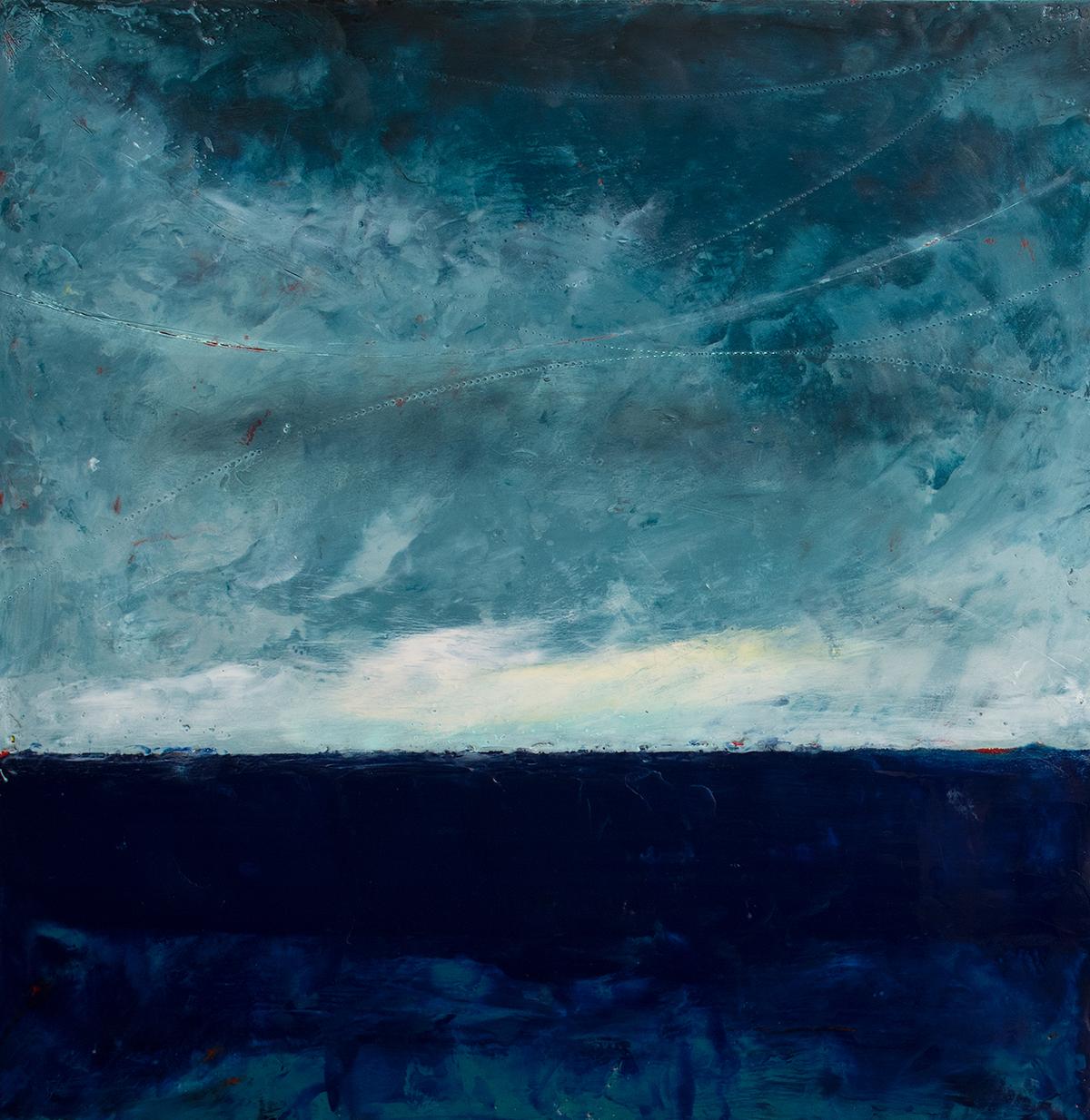 Small seascape by Graceann Warn.