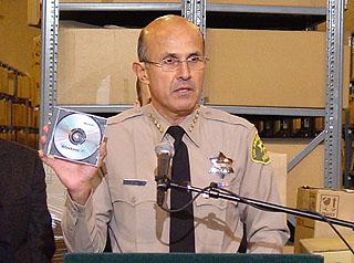 Sheriff Baca Counterfeit Software