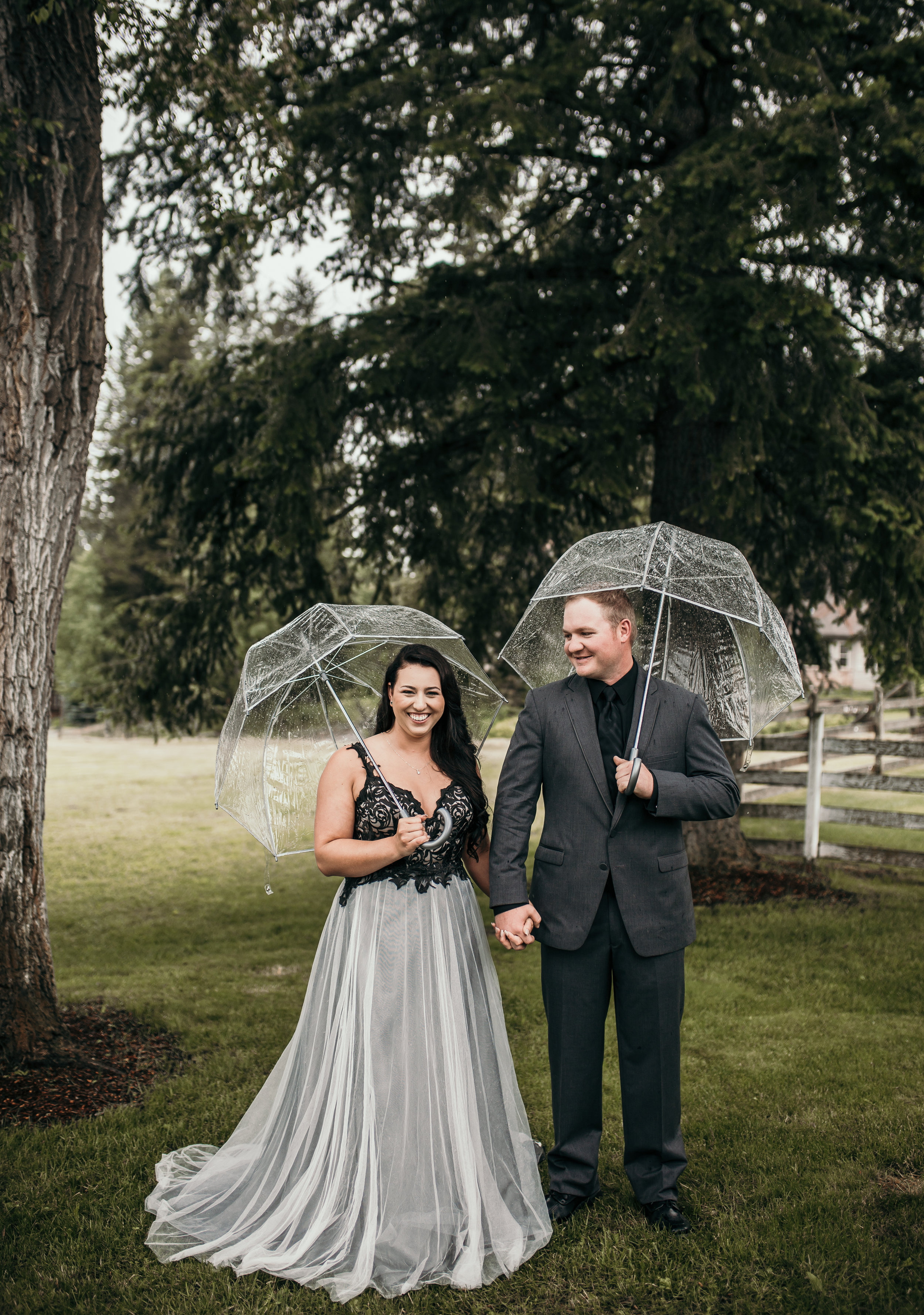 Rainy Wedding
