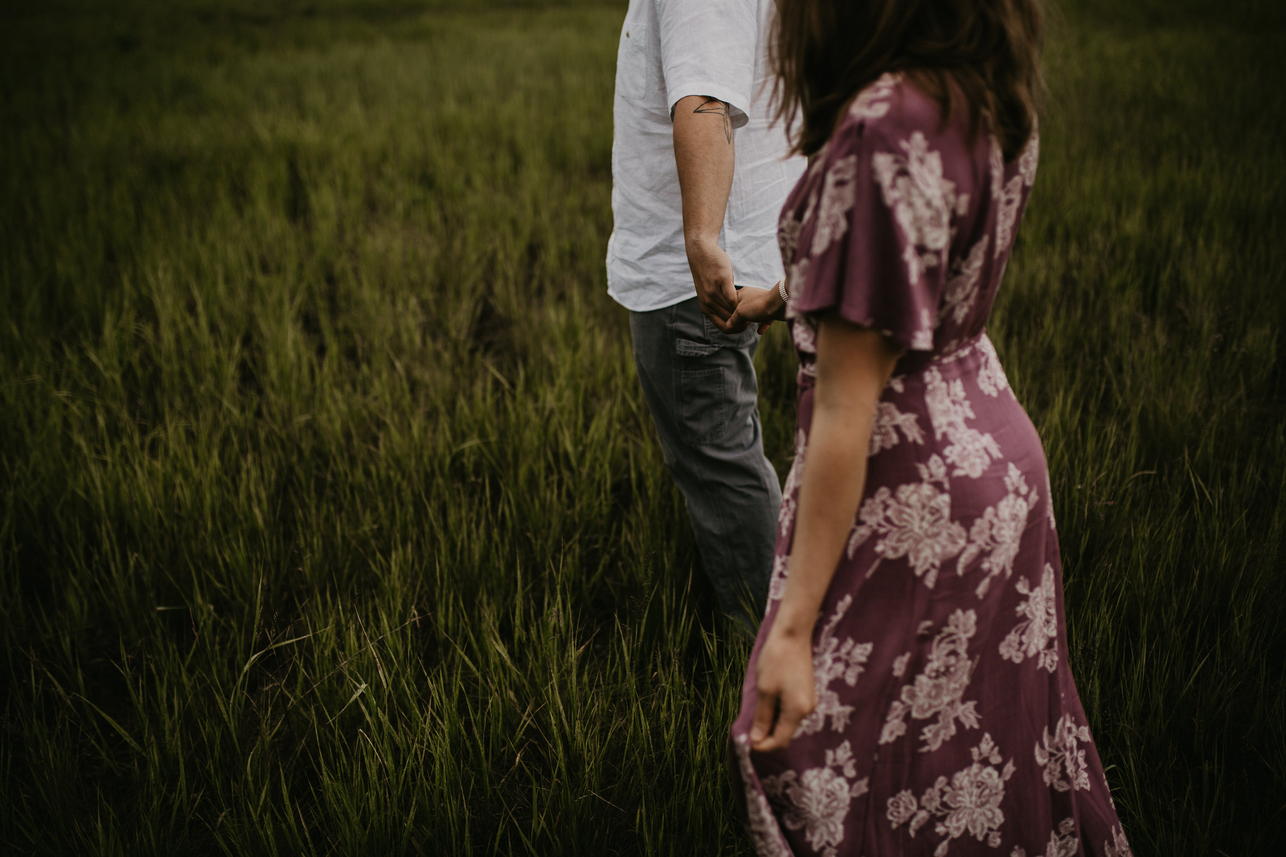 Rainy day engagement session in Coeur d Alene, Idaho