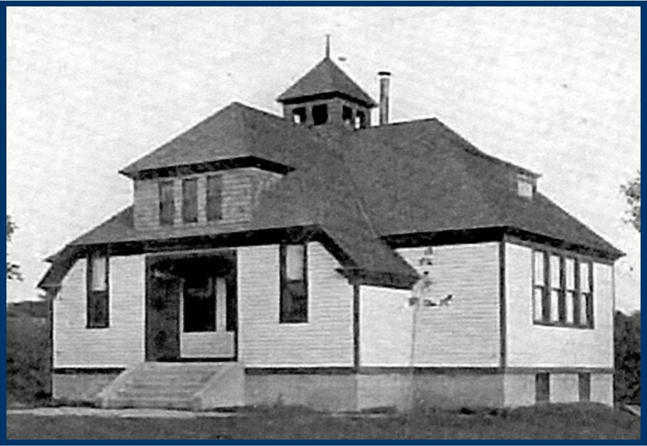 Original Schoolhouse building, circa 1890
