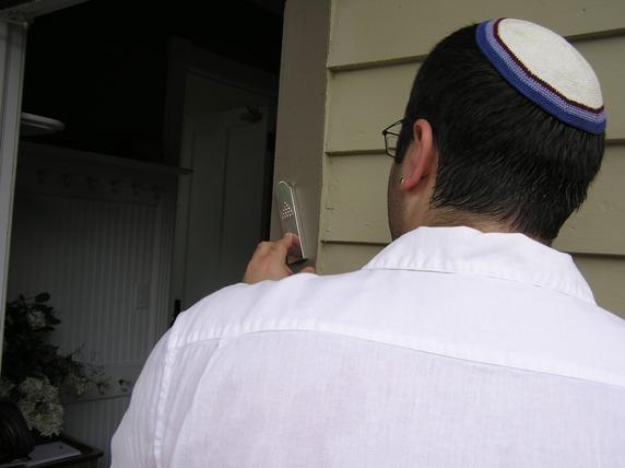 Dedicating the Synagogue