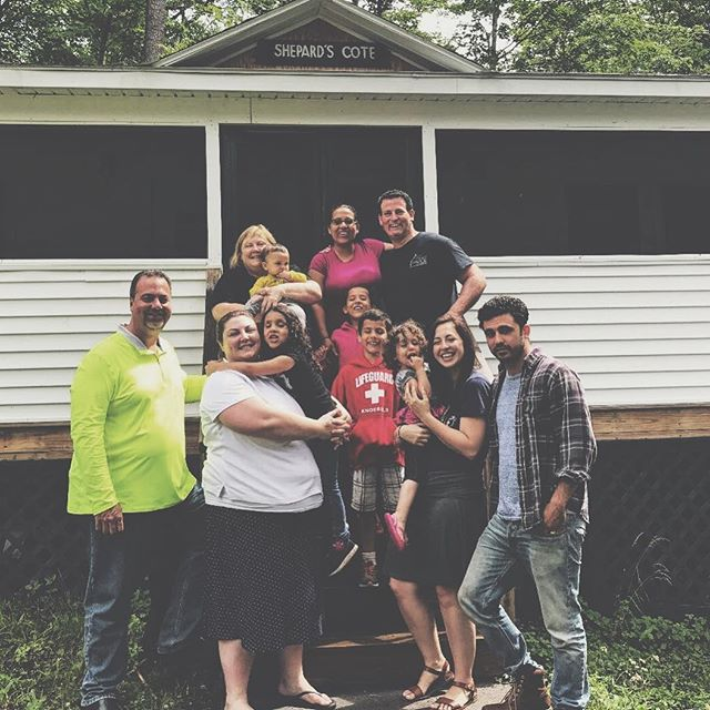 We were so blessed by this family this week. We just love them! 💕#familymoments