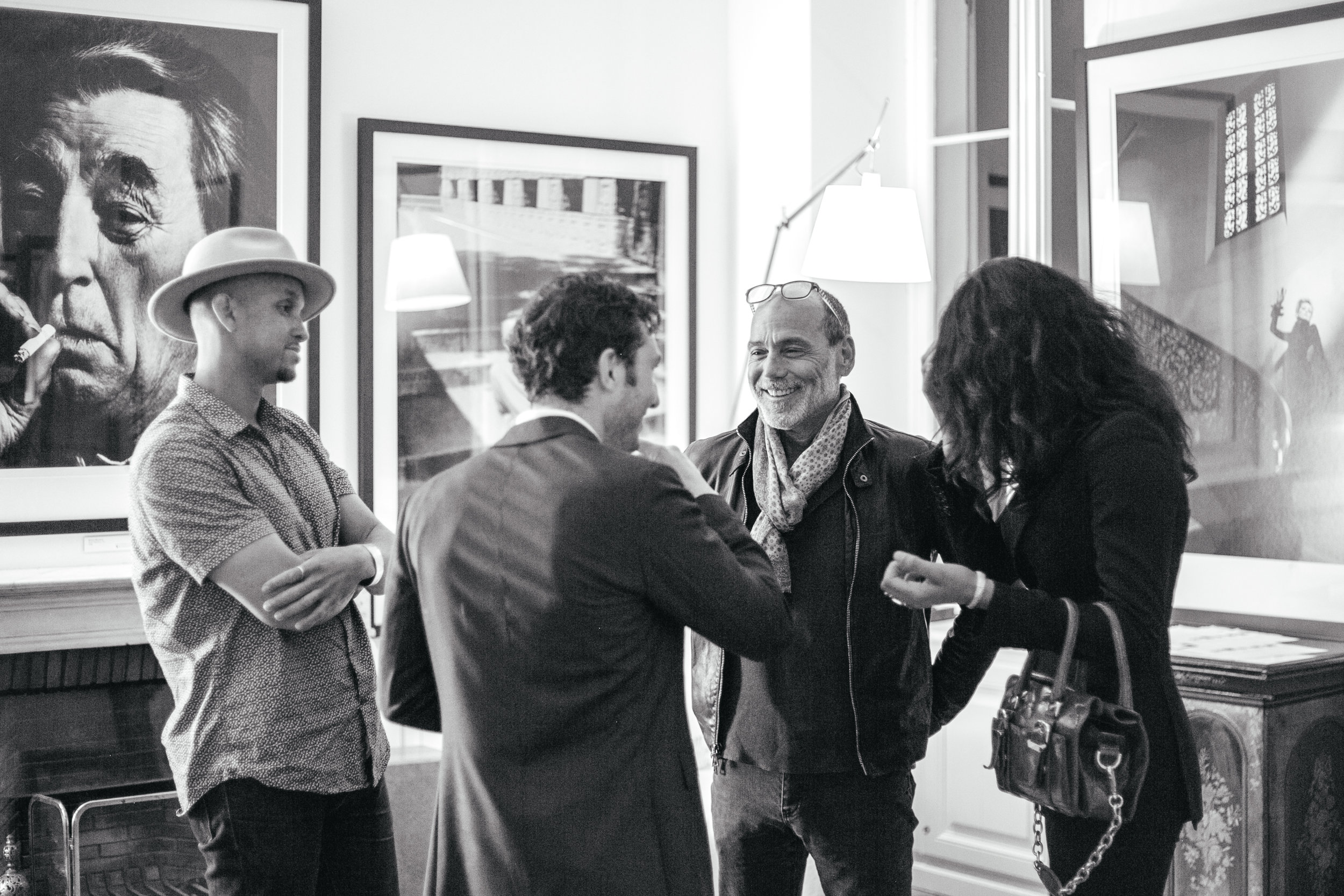 Timothy White Cannes Limited Print Photo Exhibition Opening