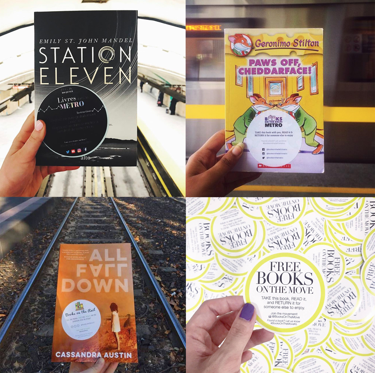 BOOKS ON THE MOVE GLOBAL - Not in New York? Don't worry!We have branches already set up in multiple cities around the world.Head over to Books On The Move Global to see if there's one in your city. If not, you can start your own!
