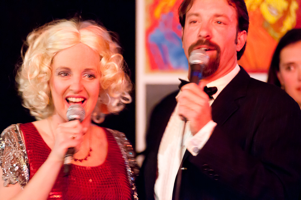 Dolly Parton and Kenny Rogers (with Joe Kuckla)
