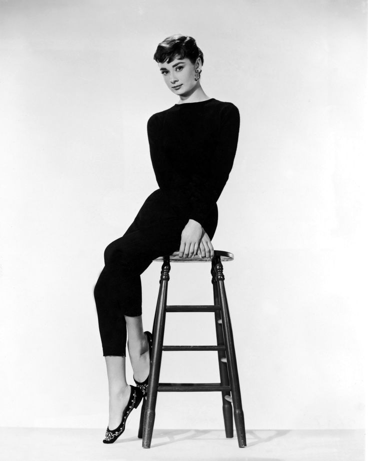 Audrey Hepburn Photoshoot for Funny Face (1957)