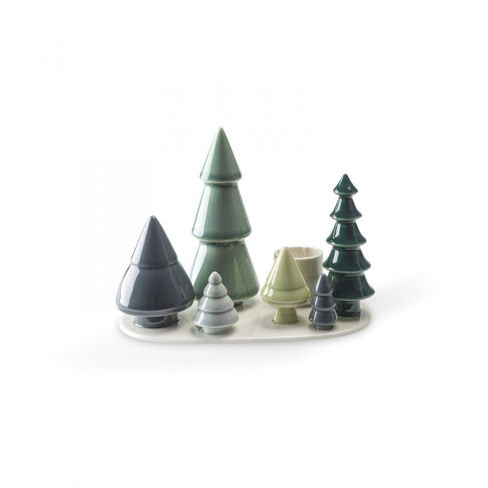 Forest Ceramic Candle Holder by Finns Dottir Image Source : Skandium