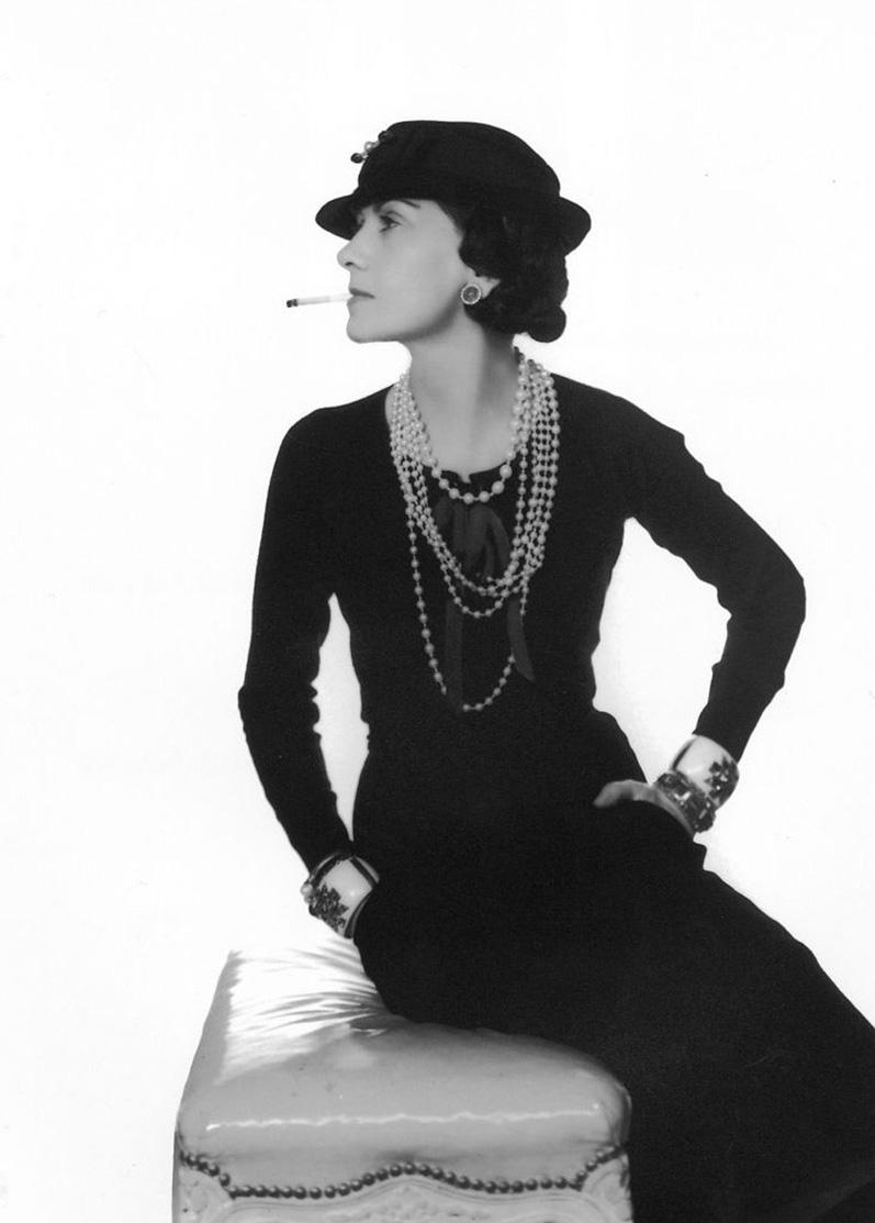 Coco Chanel (Man Ray)
