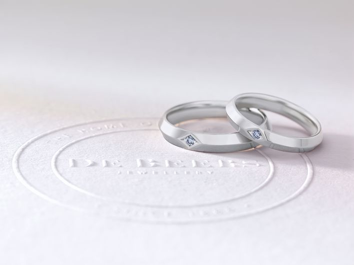 Image Source : De Beers  De Beers Origin You Me Bands