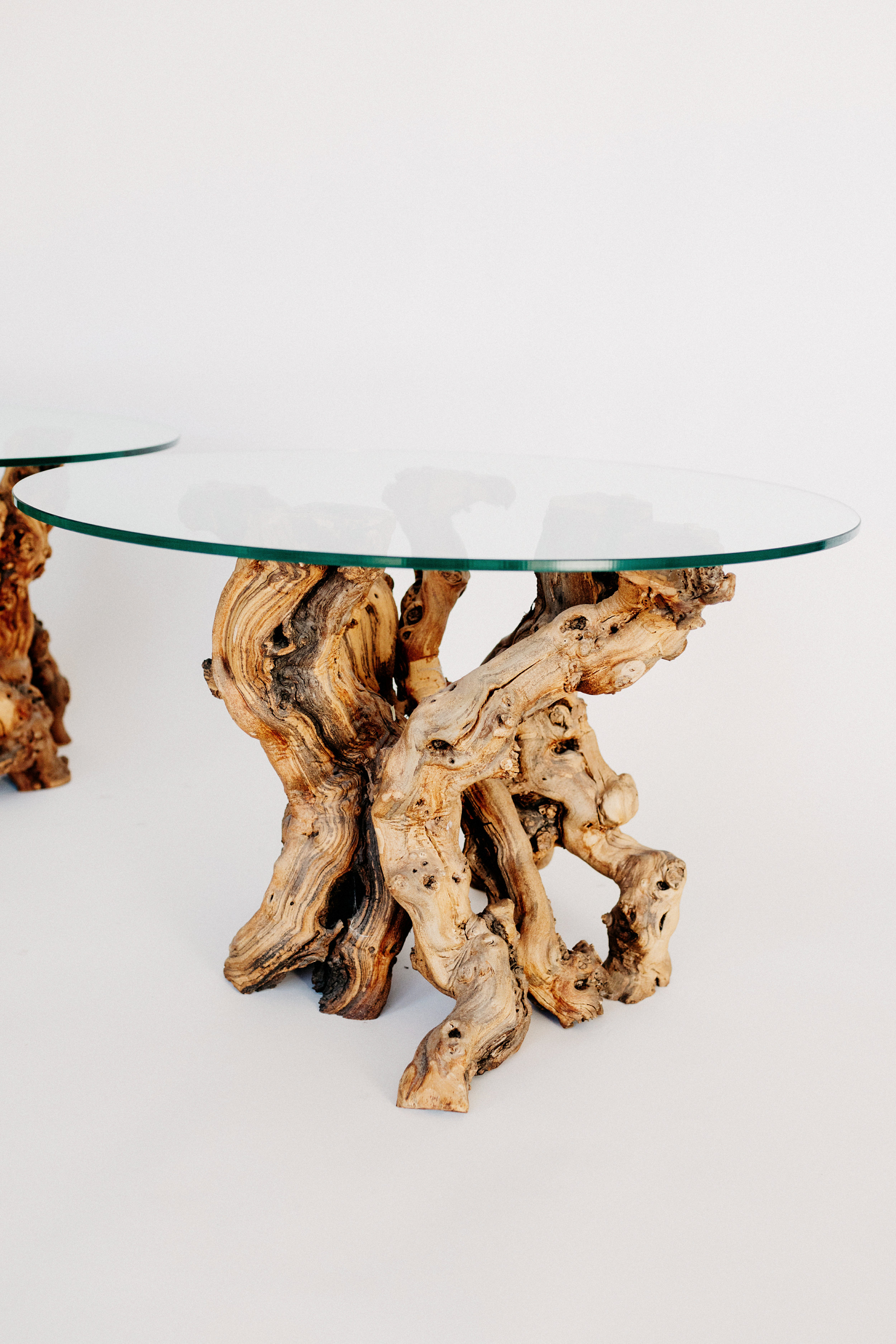 Grapevine Root Side Table