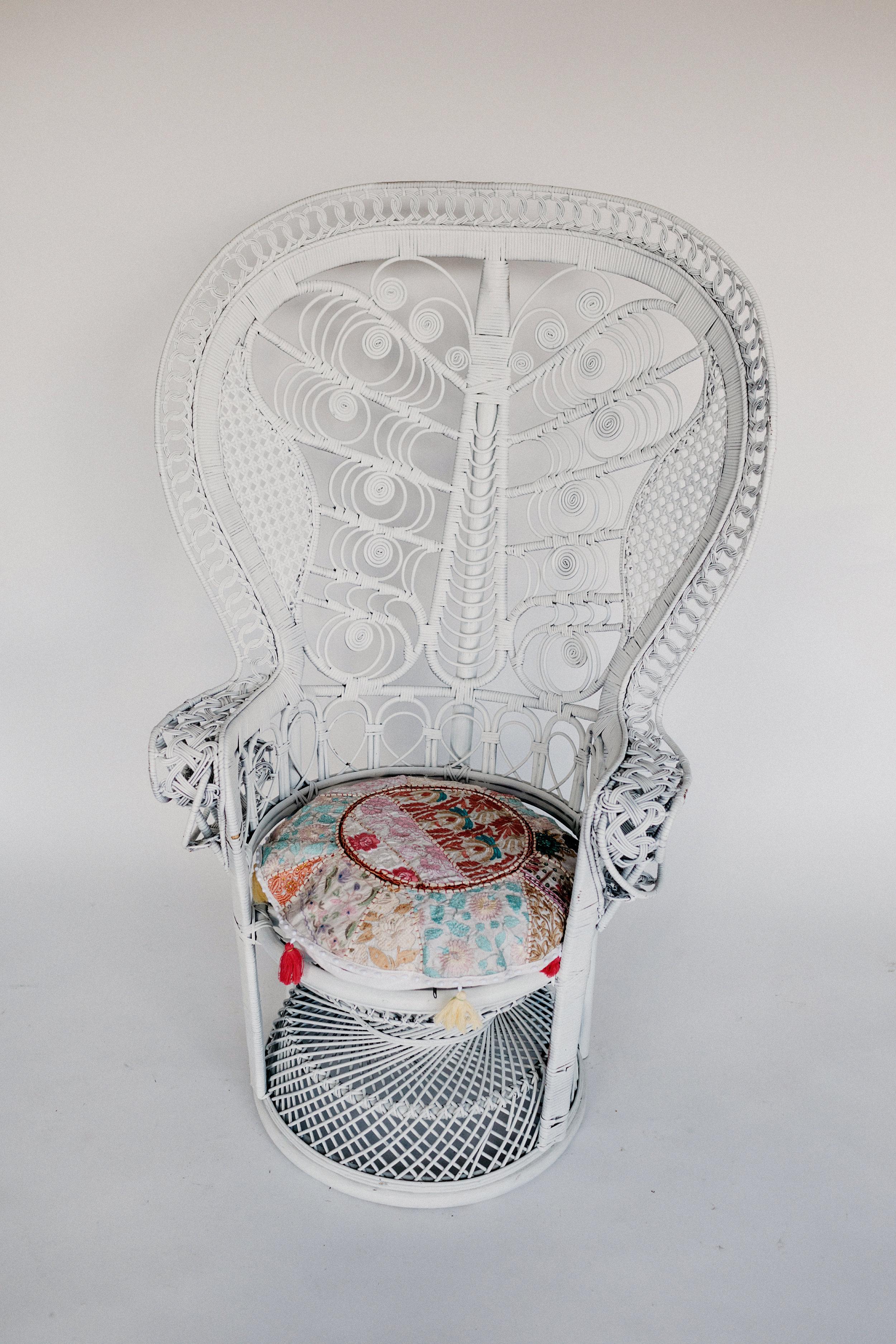 Mariah Peacock Chair
