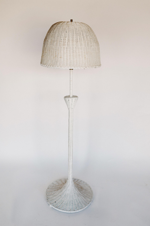 Dottie Rattan Floor Lamp