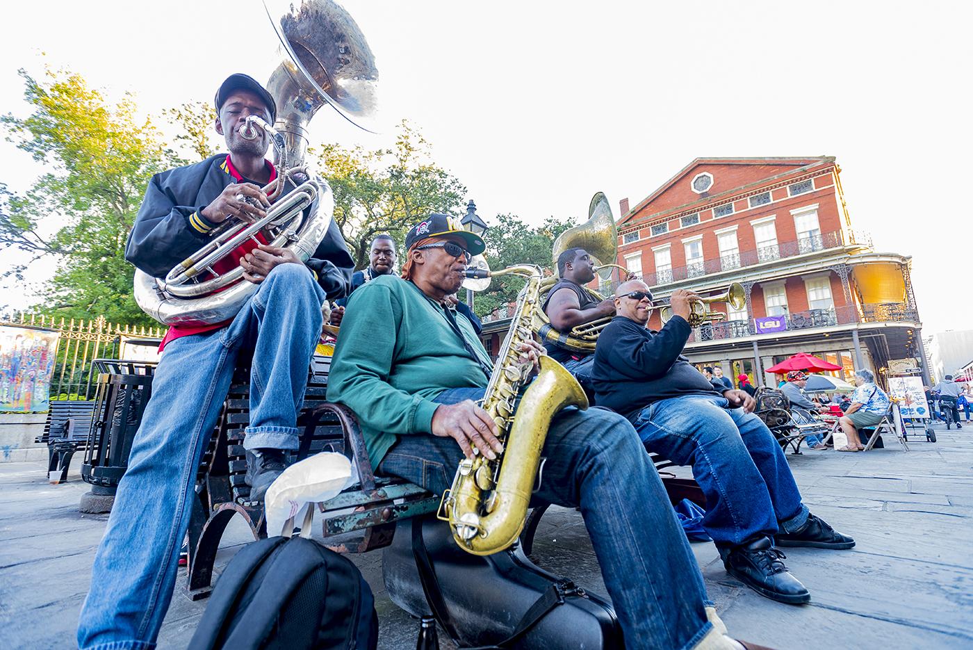 9.   Jazz group in New Orlean's French Quarter.jpg