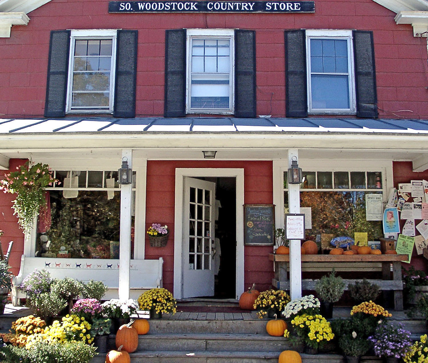 South Woodstock Country Store: Woodstock, VT - Under new ownership and looking better than ever, the South Woodstock Country Store is a perfect destination for a break along your road travels in Vermont.