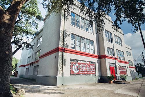 Joseph S. Clark High School in New Orleans' Treme Neighborhood