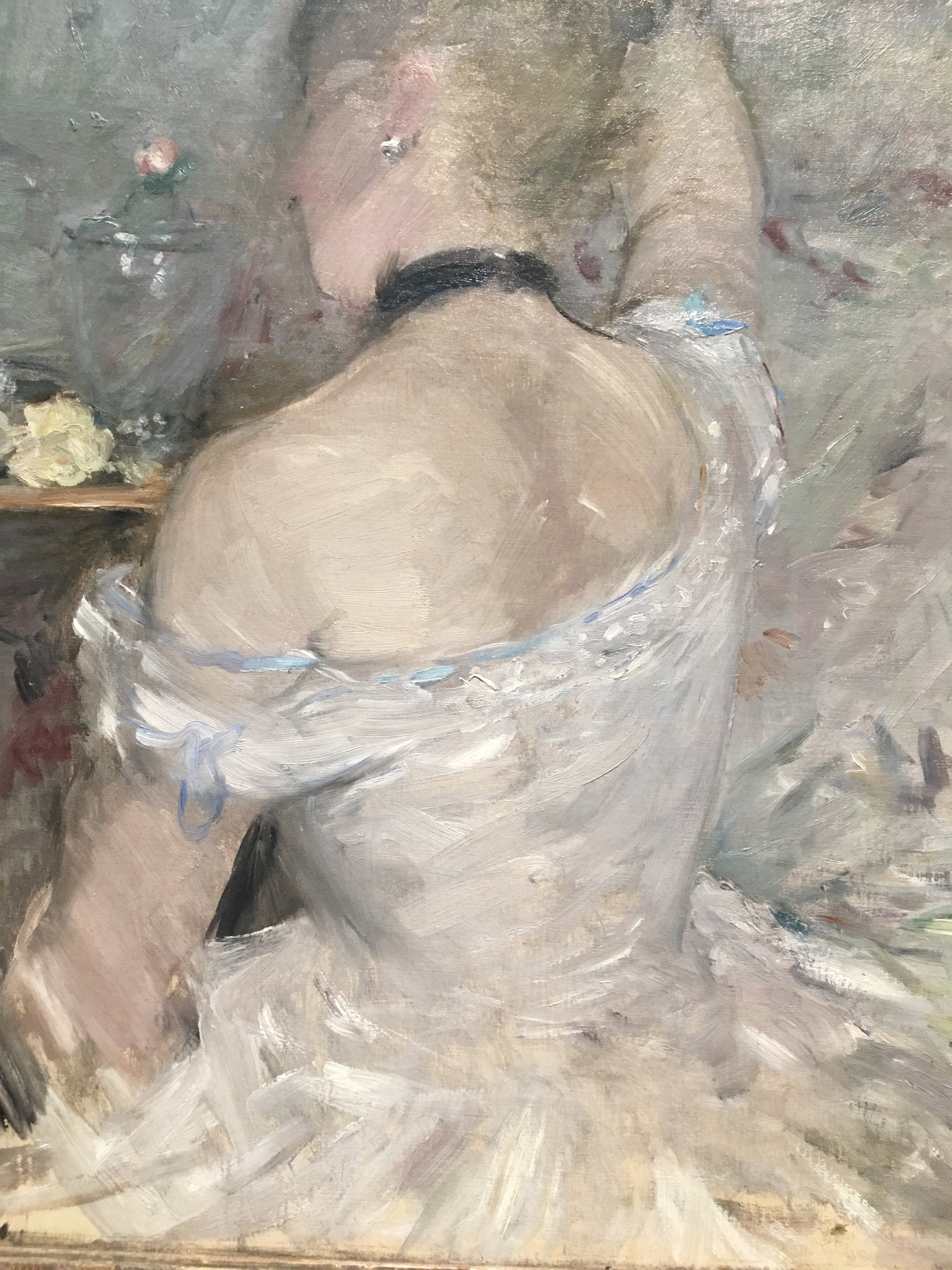 Woman at Her Toilette, 1875/80 -Berthe Morisot at the Art Institute