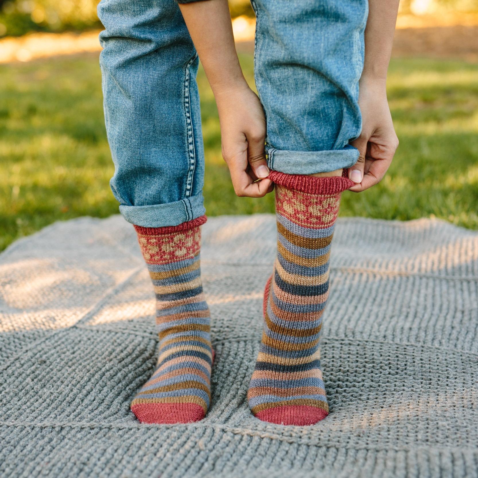 Saxe Point Socks