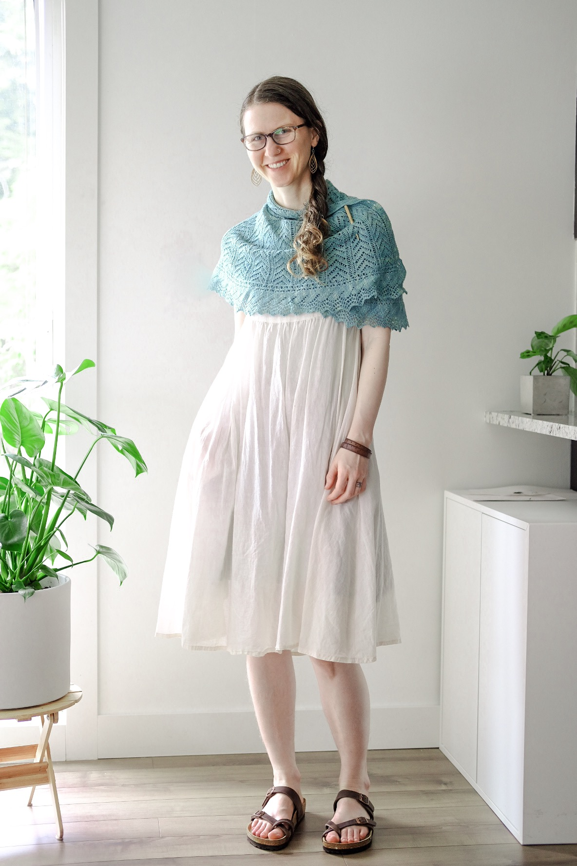 Feeling a little frilly in this comfy handmade outfit!