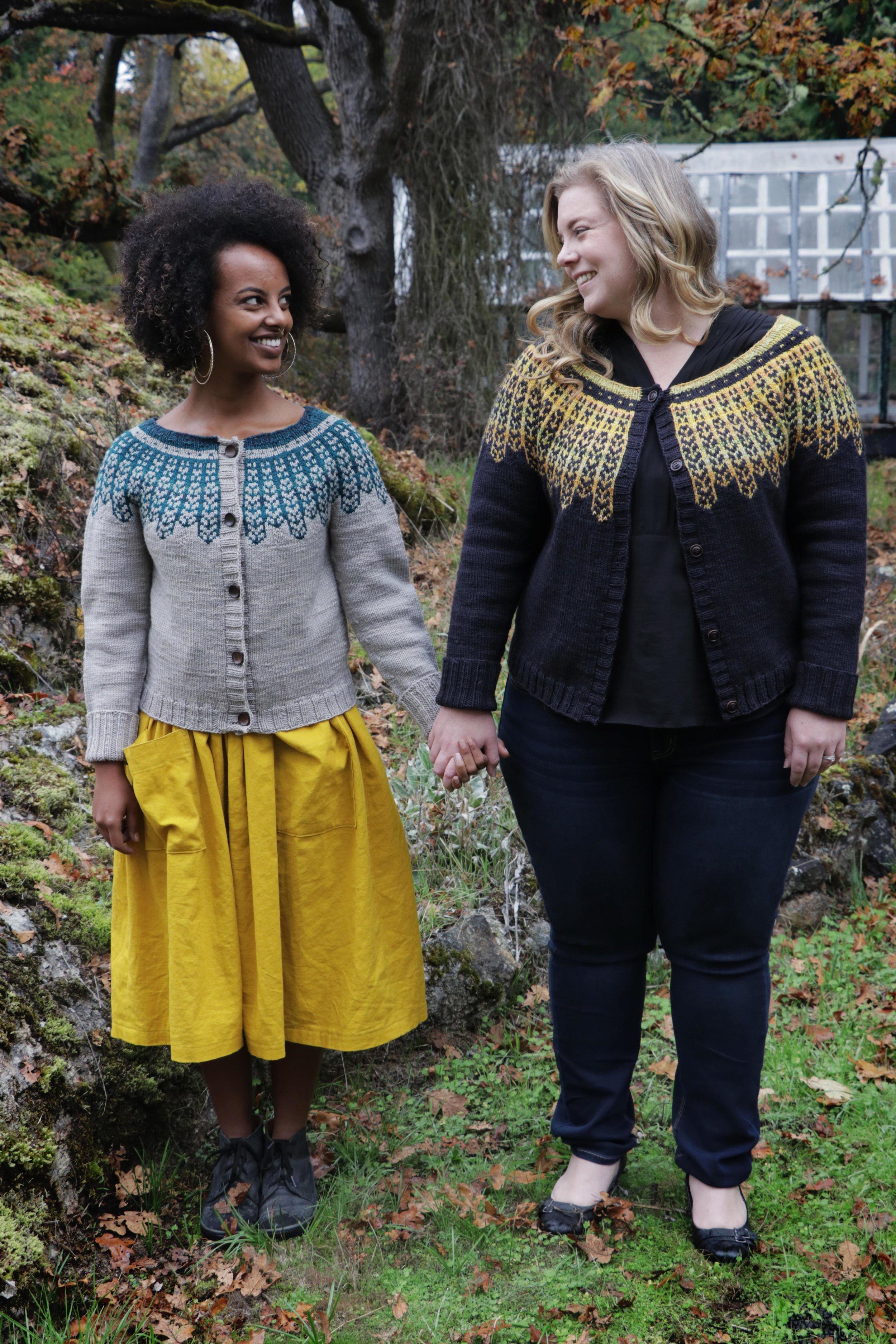 Dissent Sweater pattern