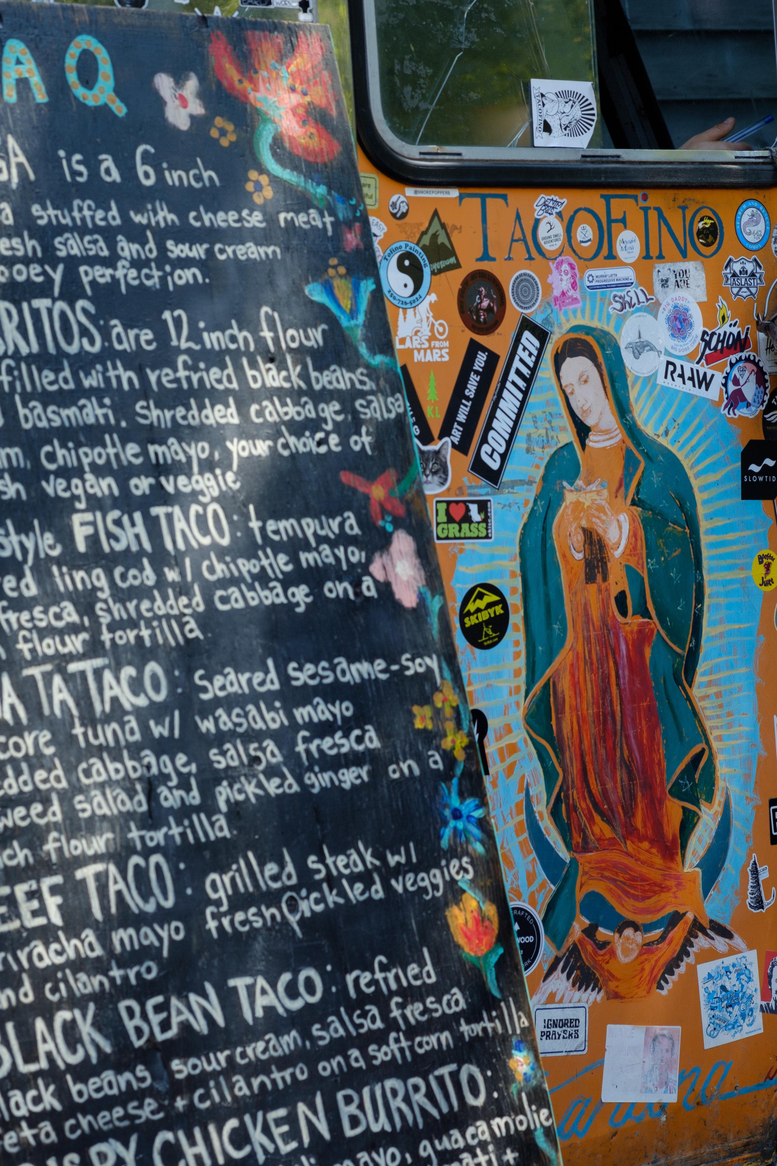 Tacofino, Tofino's famous taco truck