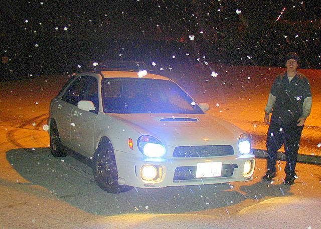 Austin's 2002 WRX Wagon