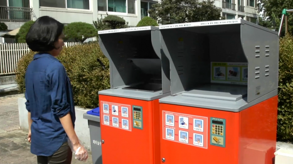 South Korean apartment compost systems