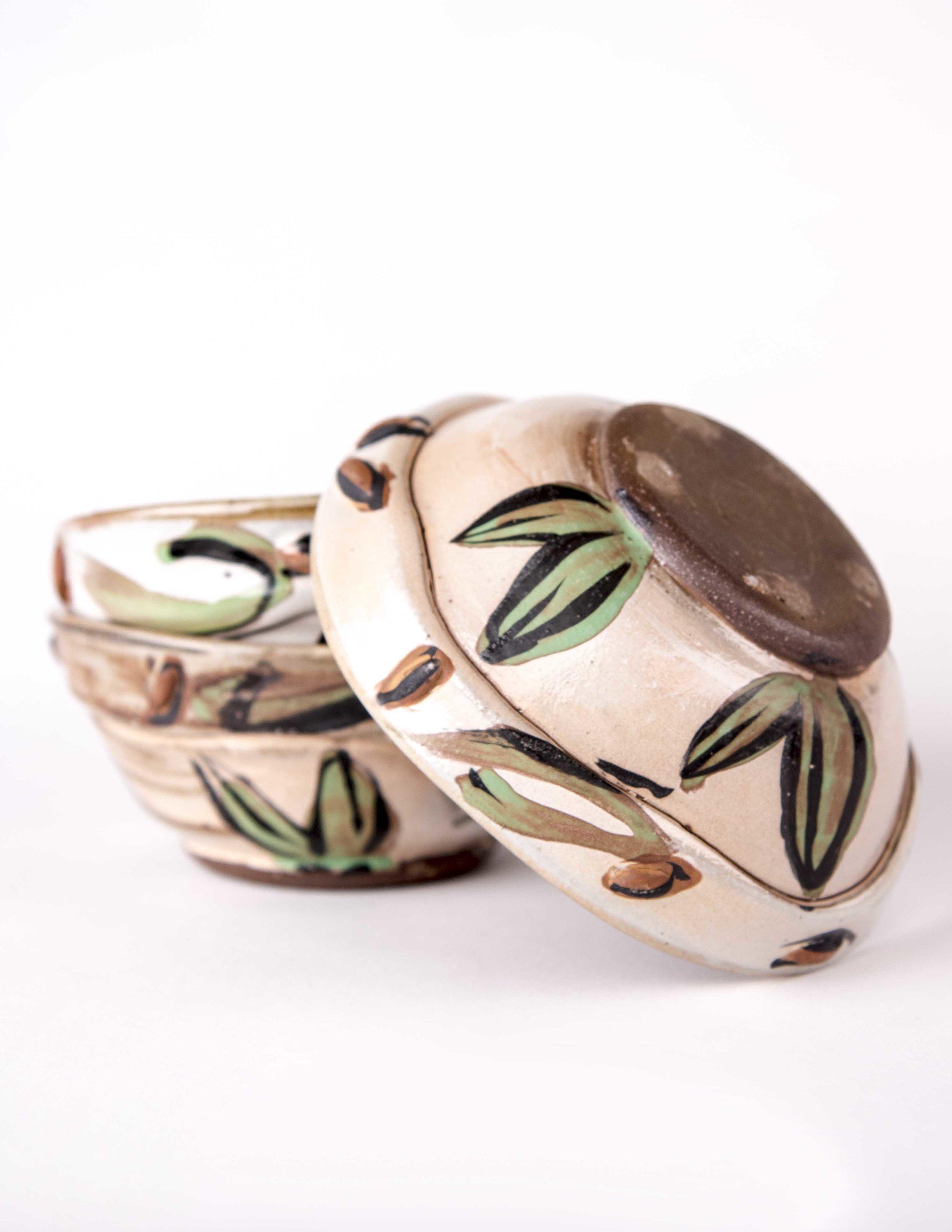 Leaf Bowls Detail