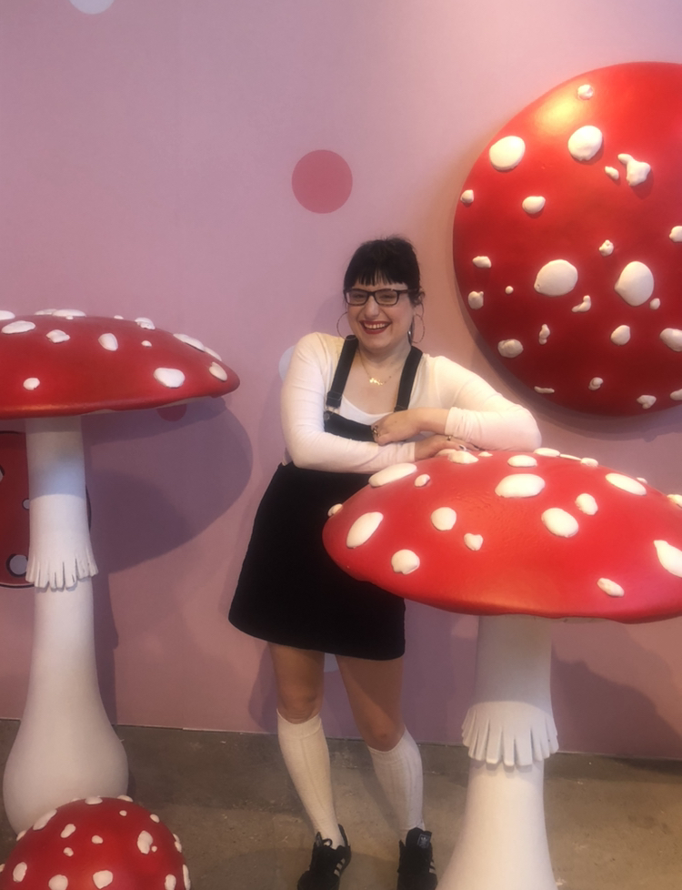 Meet me at the mushrooms!