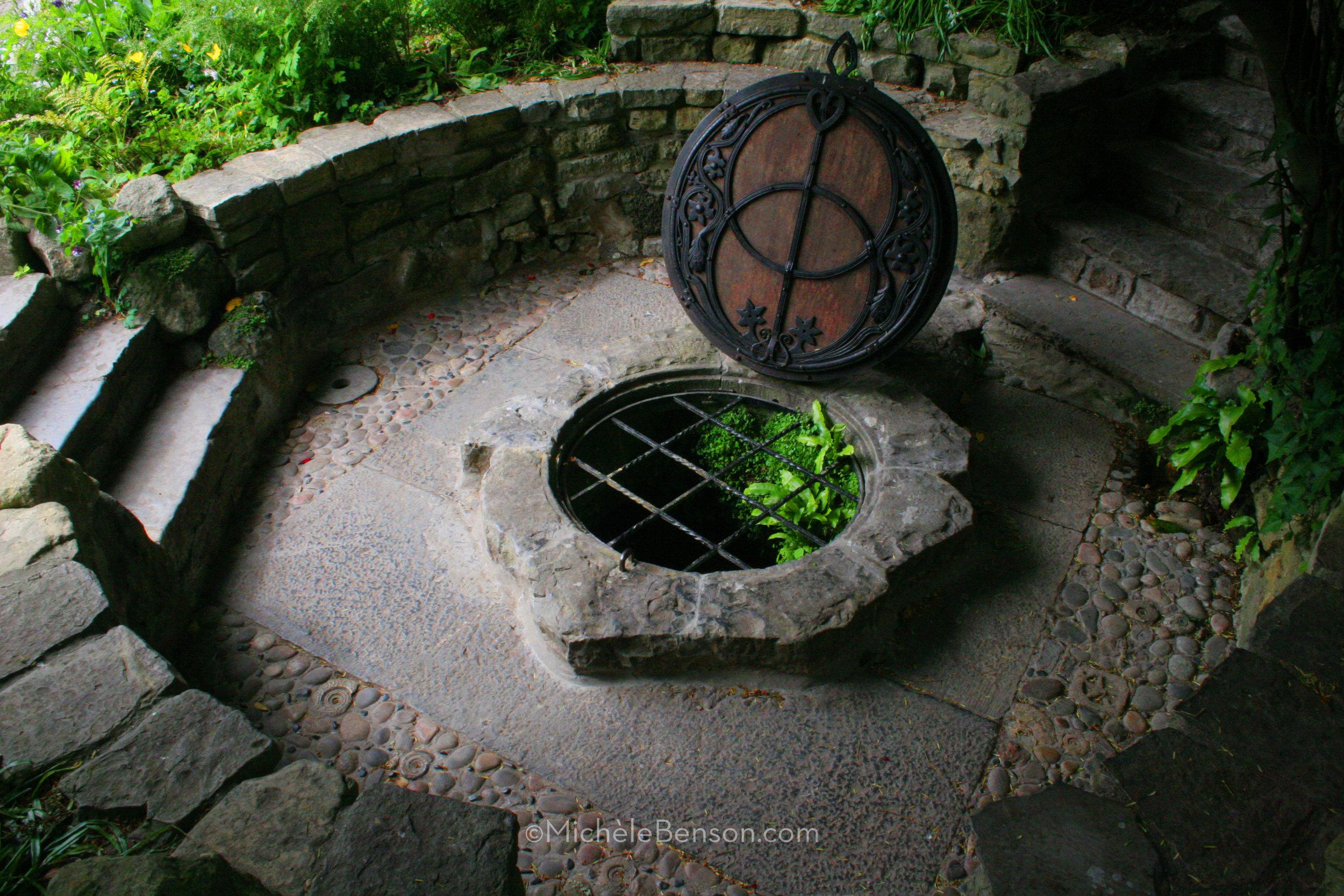 Chalice Well Glastonbury England