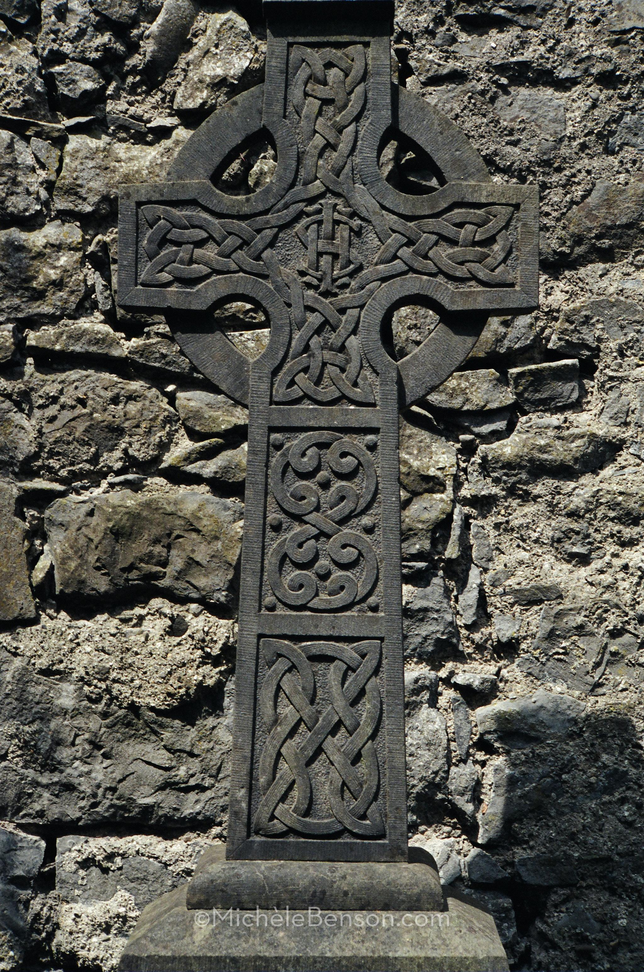 Ireland Ancient Celtic Cross