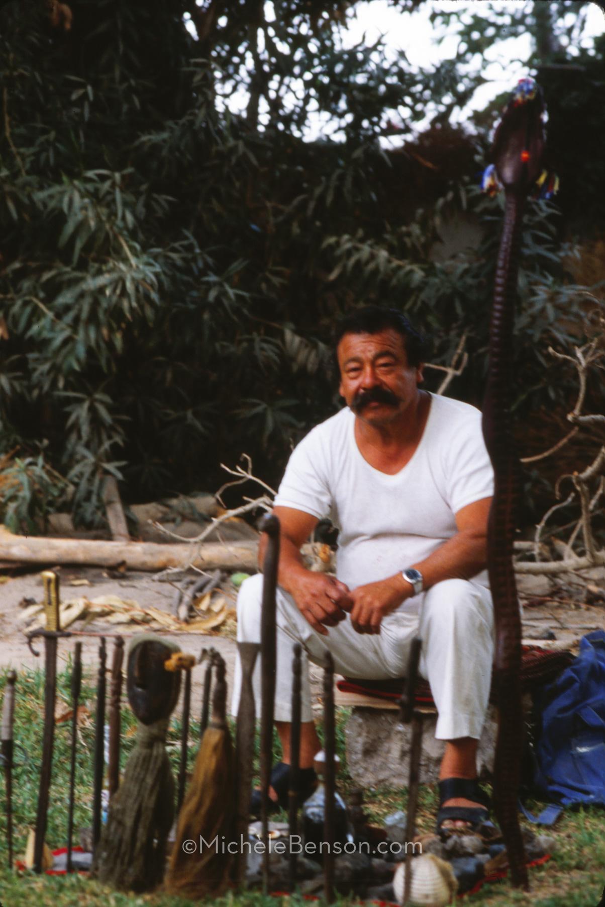 Don Edwardo Peruvian Shaman