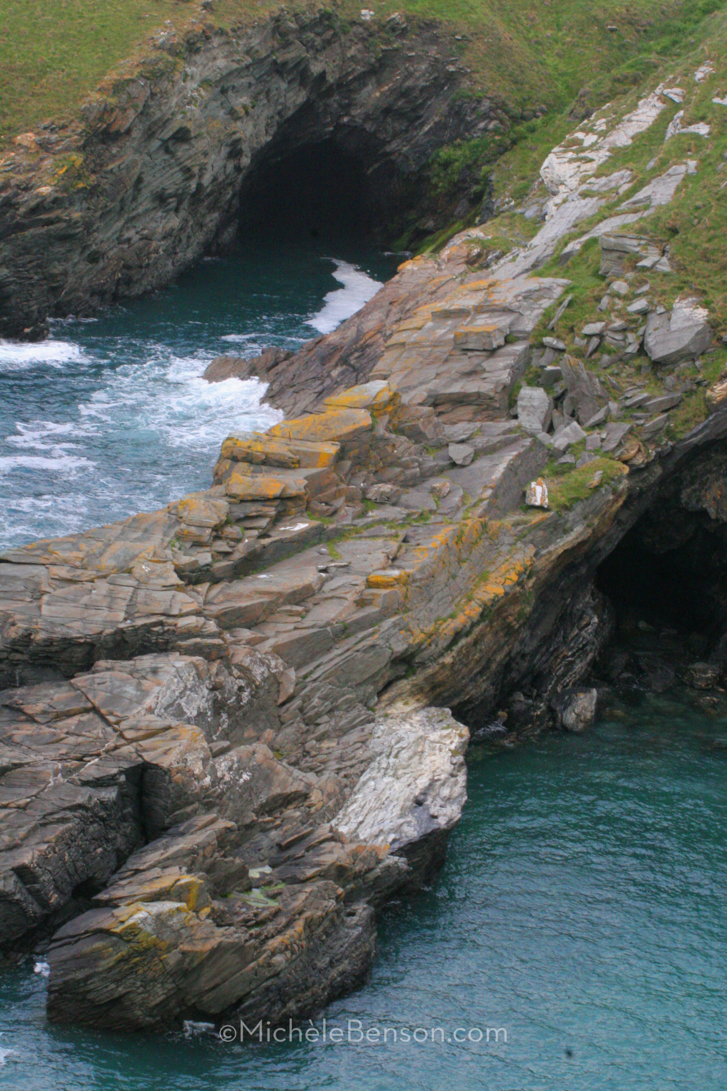 Merlin's Cave Tintagel, England