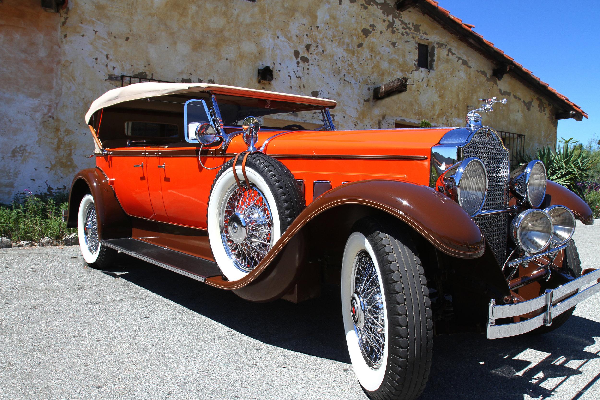 1934 Packard Dual Cowl Phaeton Carmel, California 2015