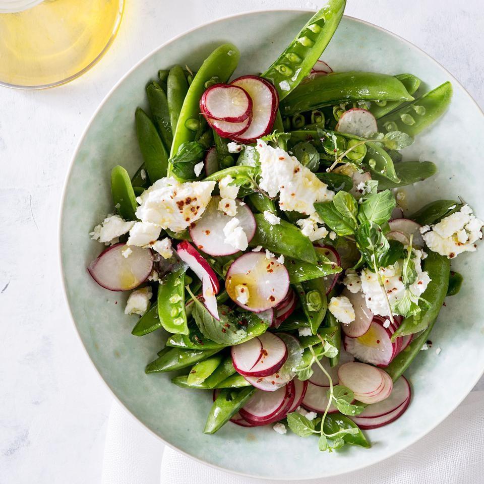 Sugar Snap Pea Salad with Aleppo Pepper